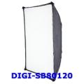 ซอฟท์บ็อกซ์ ขนาด 80x120 สำหรับไฟแฟลชสตูดิโอ นีโอเทค ดิจิตอลไล้ท์ รุ่น DIGI-SB80120