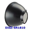 โคมไฟรีเฟลคเตอร์-แบบมาตรฐาน ขนาดโคม 180มม สำหรับ DIGI-Series รุ่น DIGI-SR1810